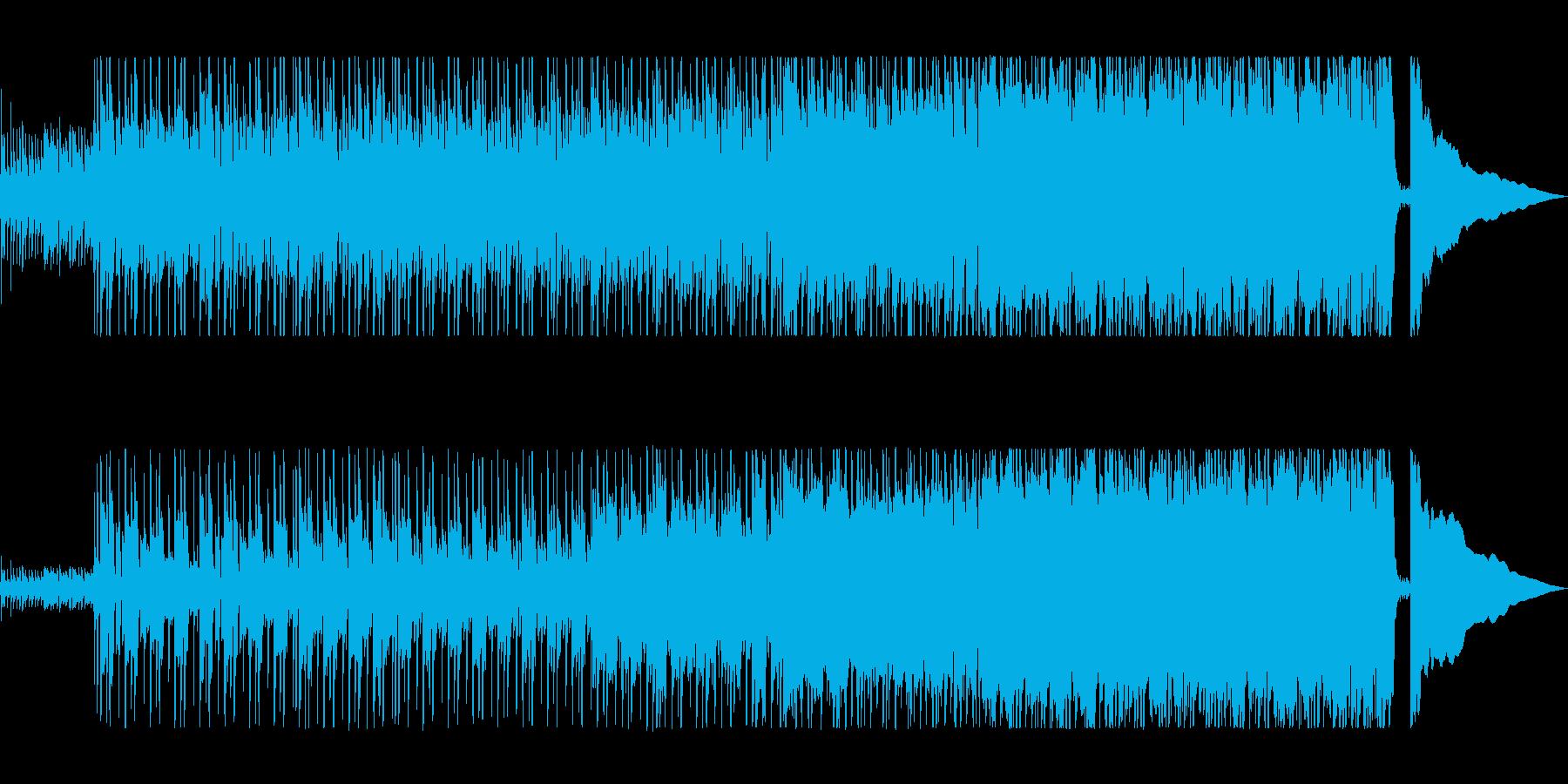 爽やかでかっこいいロックの再生済みの波形