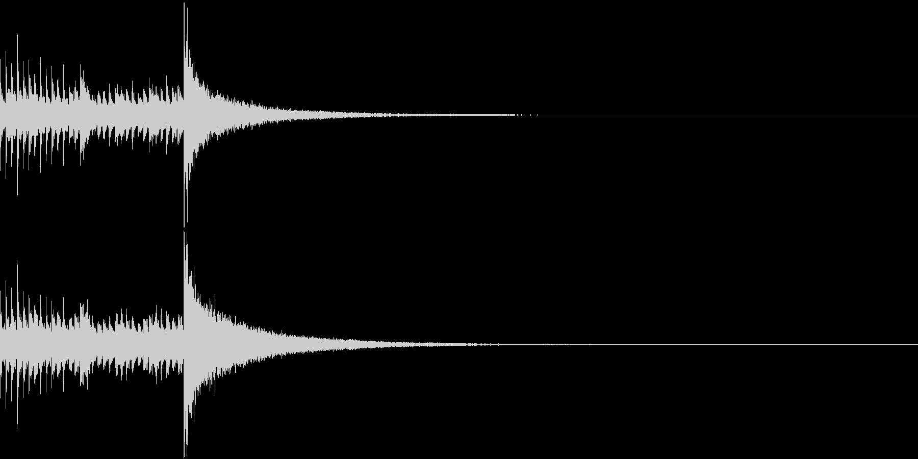 ドラムロール/ミドル/ドロロロロ/2の未再生の波形