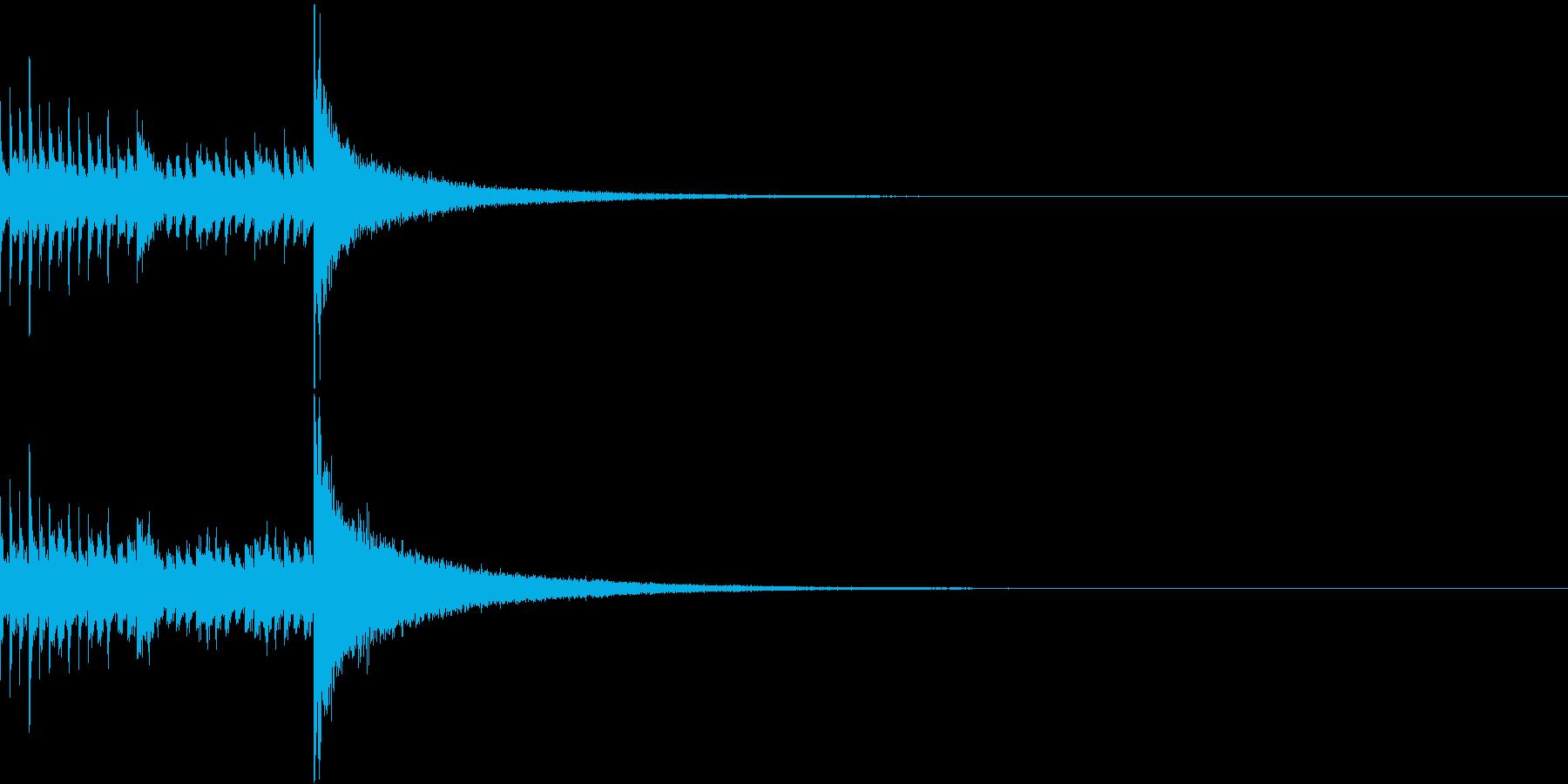 ドラムロール/ミドル/ドロロロロ/2の再生済みの波形