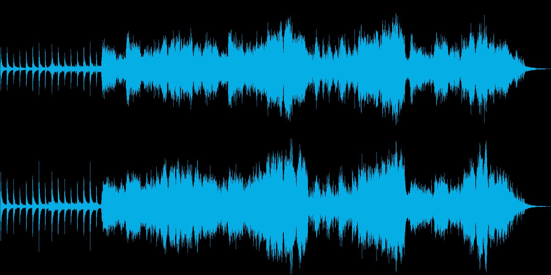 ヨーヨーマ的なチェロと笛とピアノの和弦楽の再生済みの波形