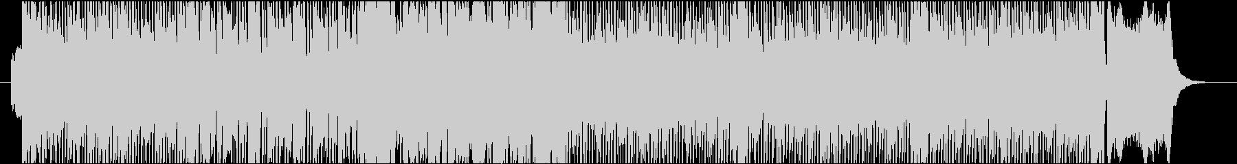 ヒロインアニメのテーマ曲風の未再生の波形