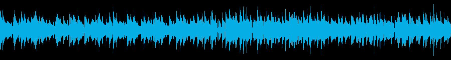 ループ 優しいバラードジャズの再生済みの波形