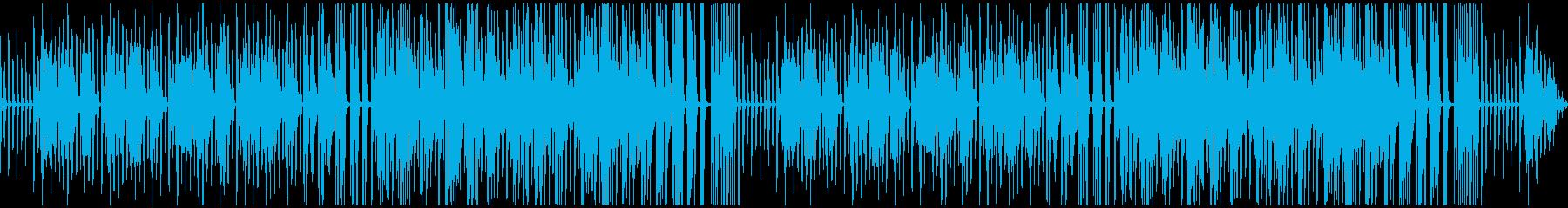 トークなどに使えそうな素朴なピアノ曲の再生済みの波形