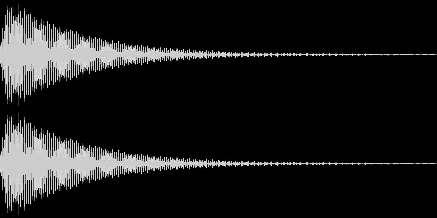 DTM Tom 10 オリジナル音源の未再生の波形