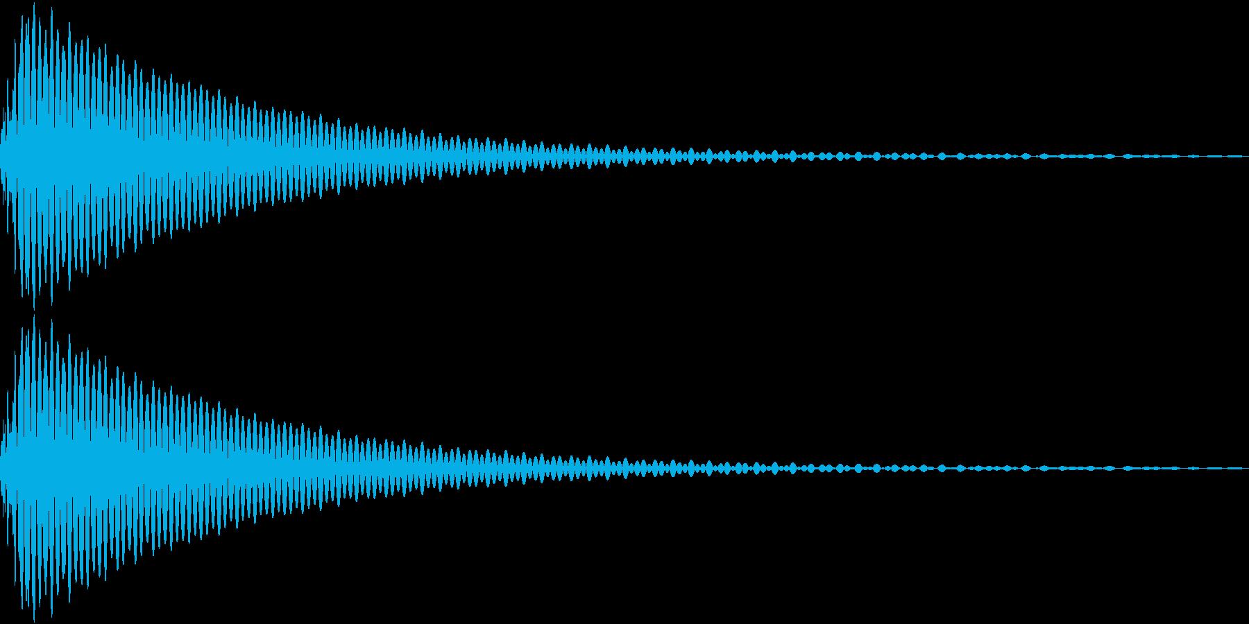 DTM Tom 10 オリジナル音源の再生済みの波形