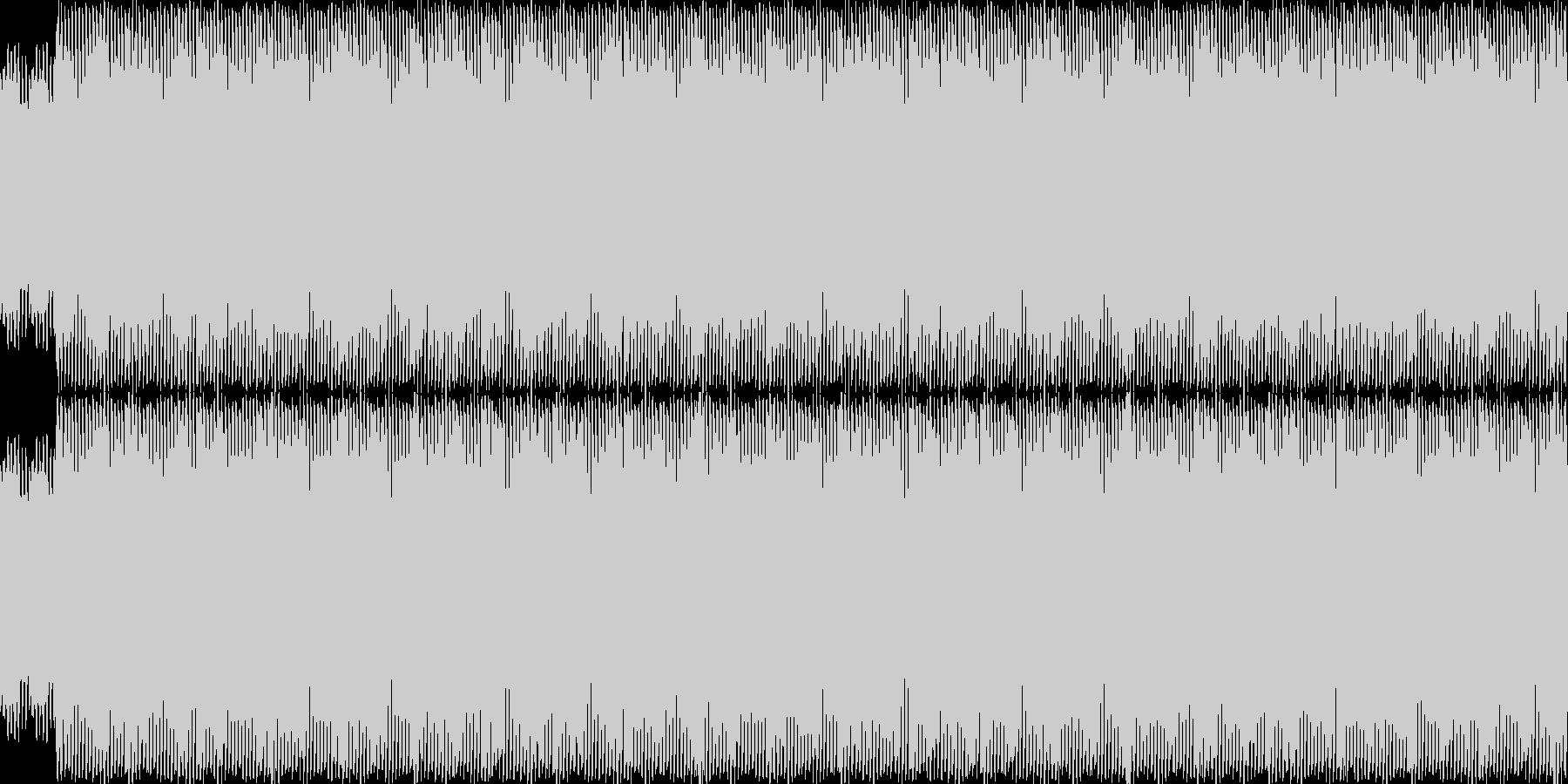 4つ打ち急かし系1の未再生の波形