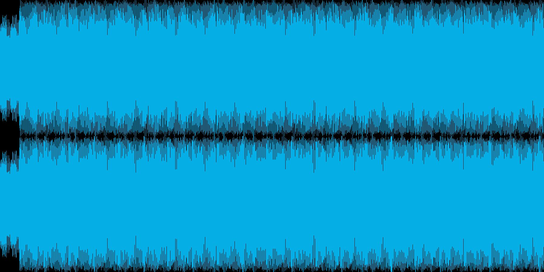 4つ打ち急かし系1の再生済みの波形