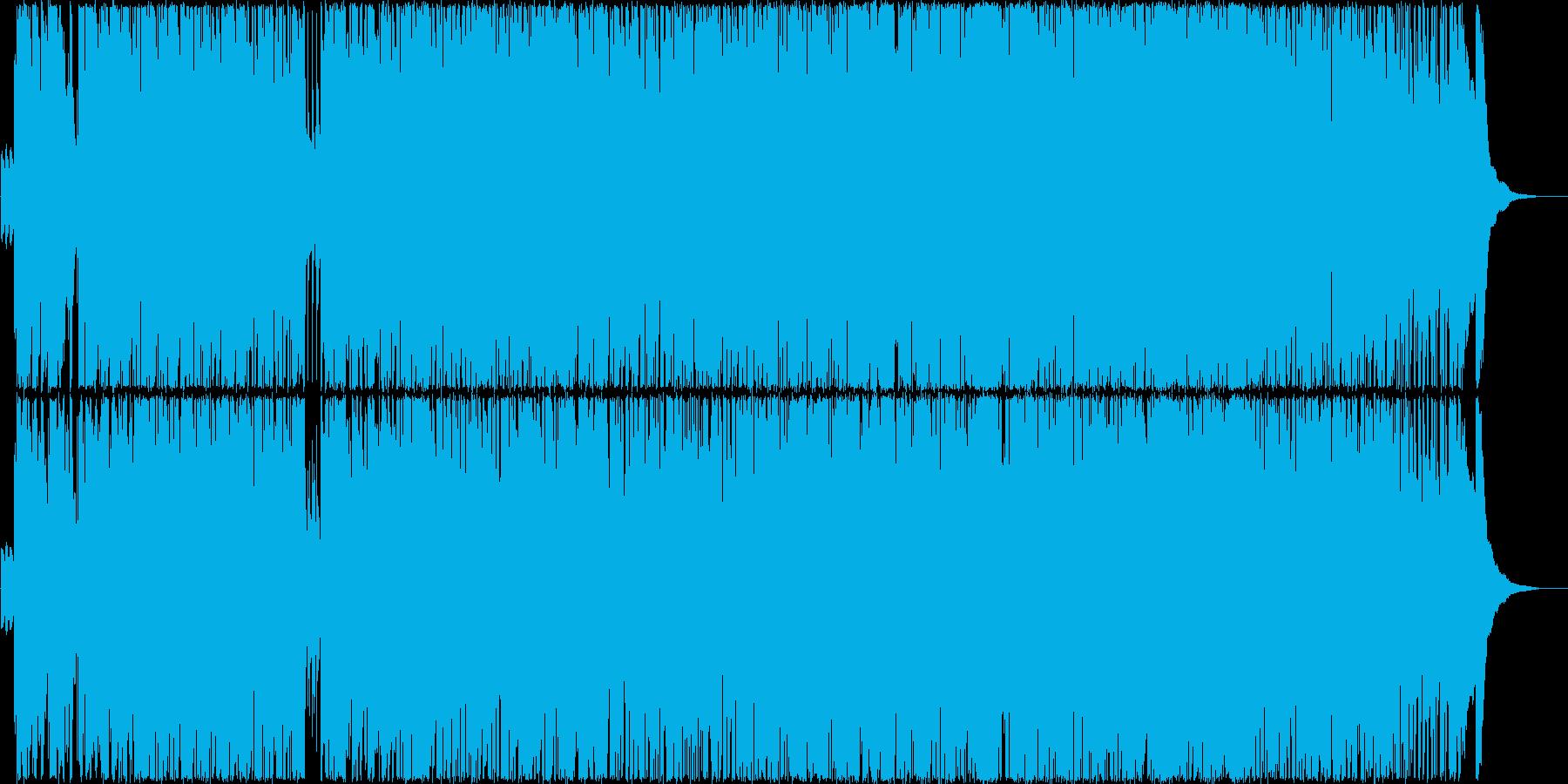 ピアノ伴奏でふわふわしたガールズポップの再生済みの波形