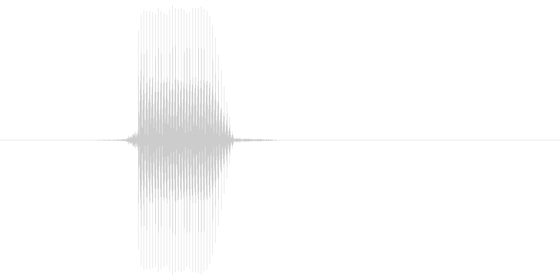 ゲーム(ファミコン風)セレクト音_049の未再生の波形