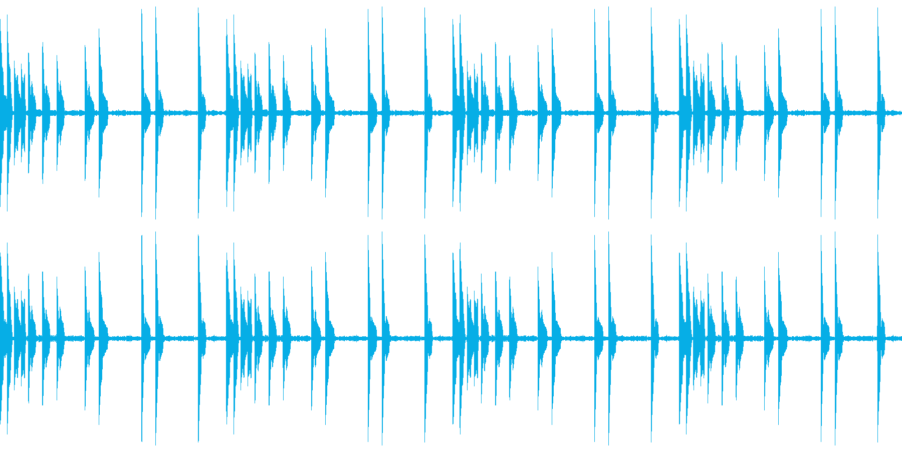 EDM リードシンセ 2 音楽制作用の再生済みの波形