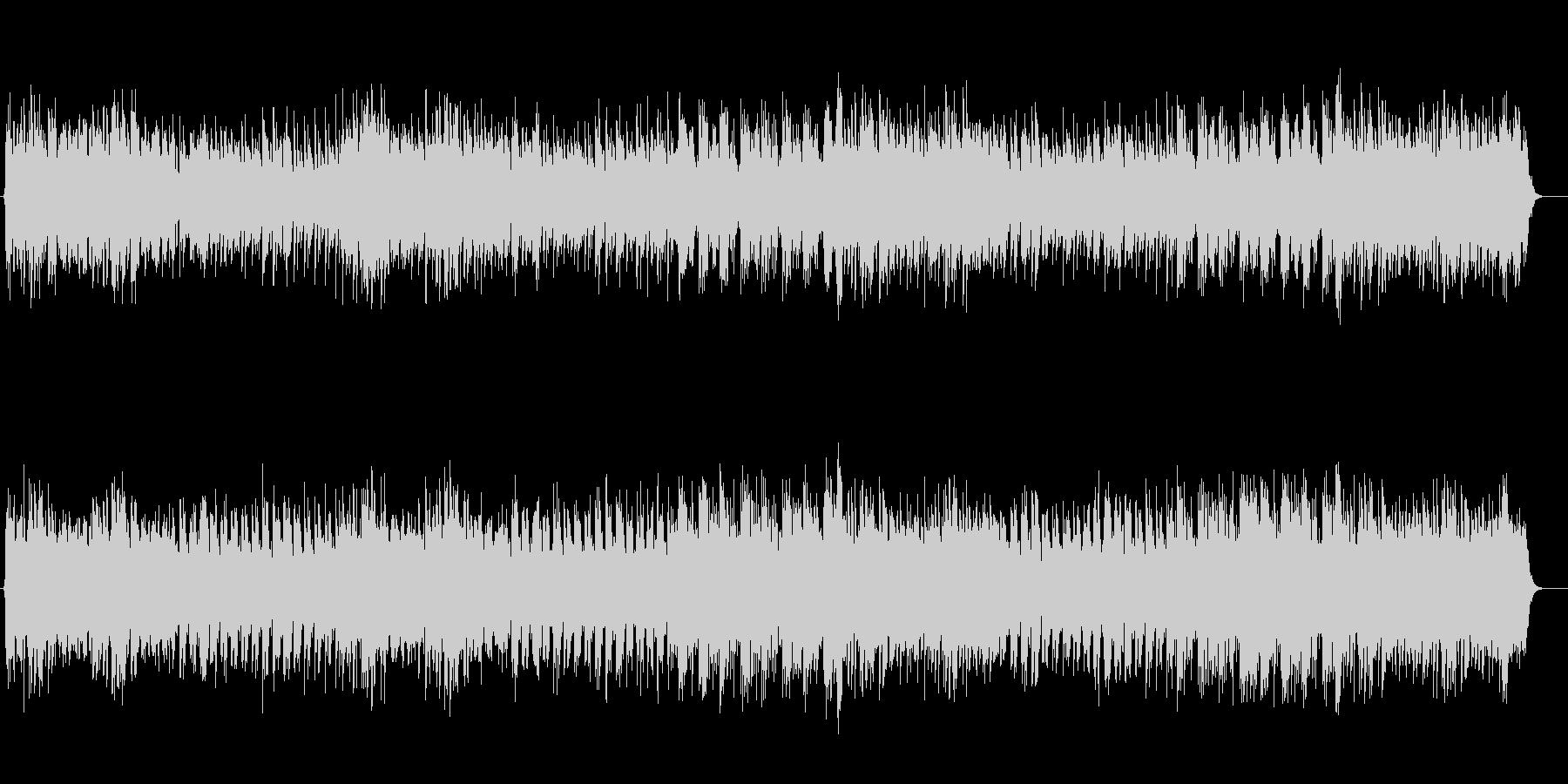 スローテンポのメルヘンなワルツの未再生の波形