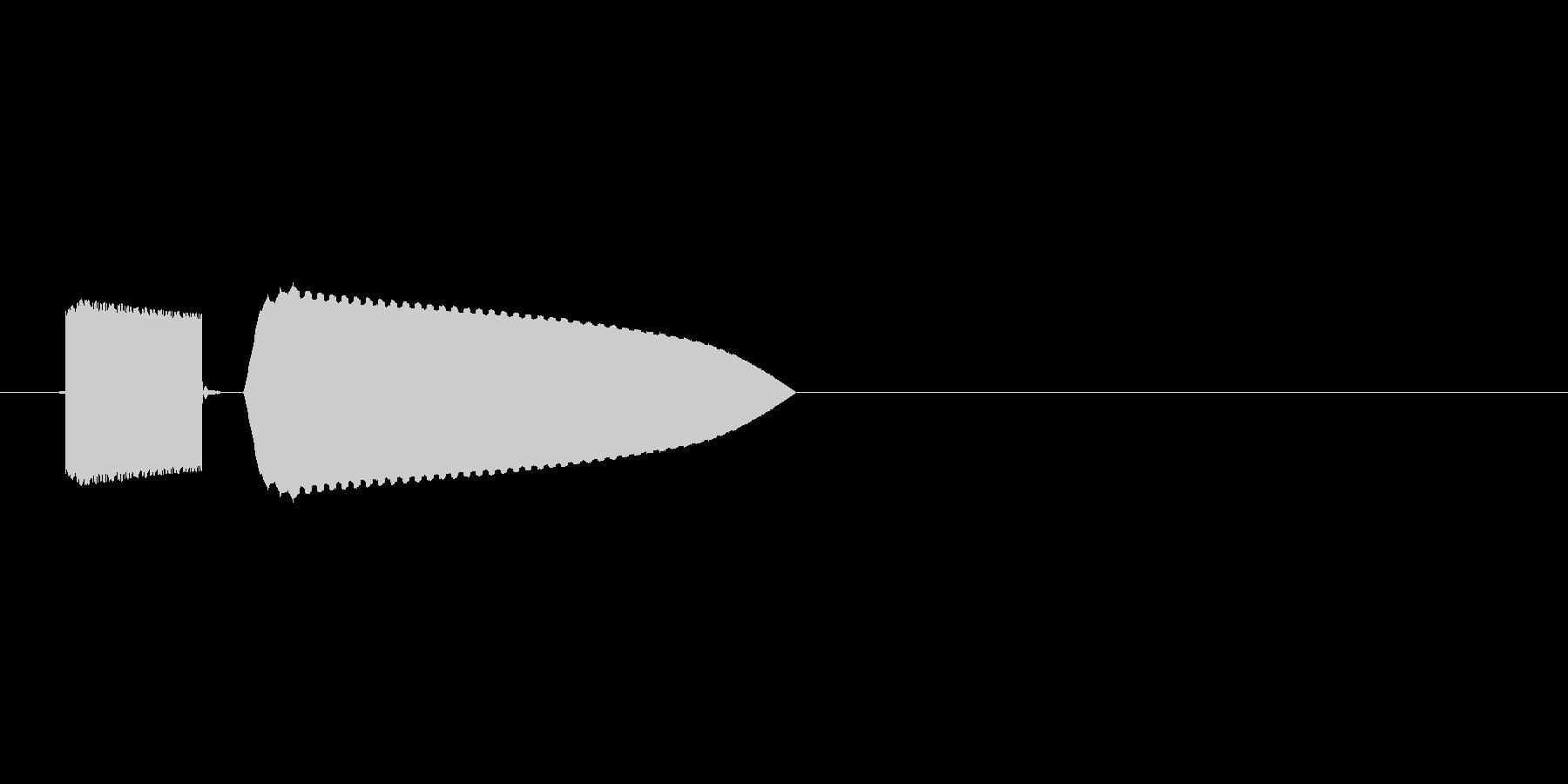 8bitの氷魔法 ピキンの未再生の波形