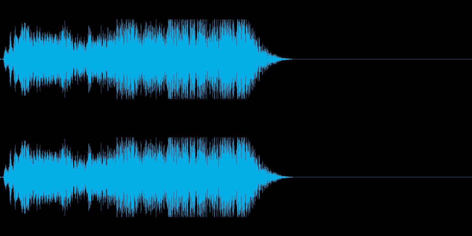 不気味に響く声らしき音…2の再生済みの波形