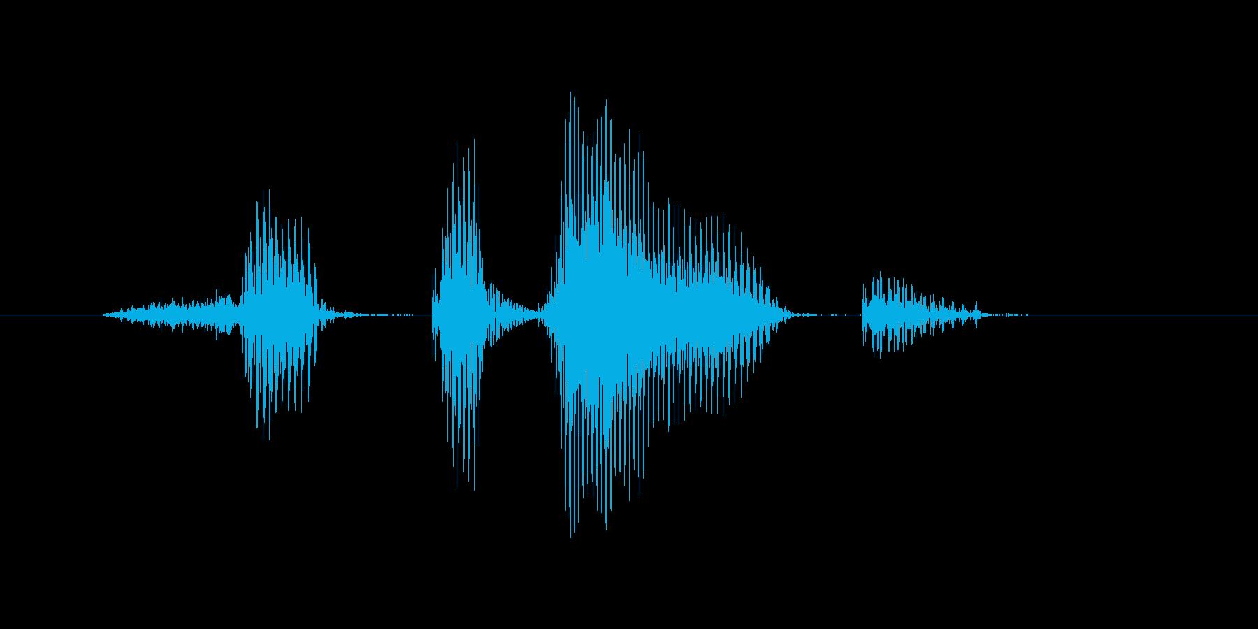 セットポイントの再生済みの波形