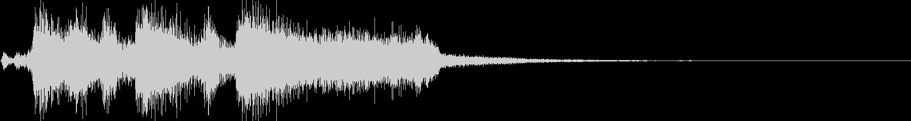 ジングル(ボーナスゲット・クリア・正解)の未再生の波形