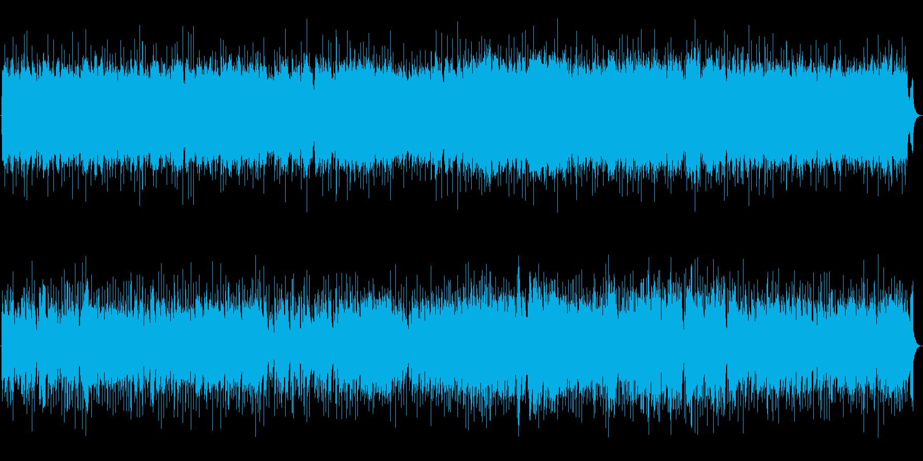 シンプルなオルガンジャズ 探偵 スパイの再生済みの波形