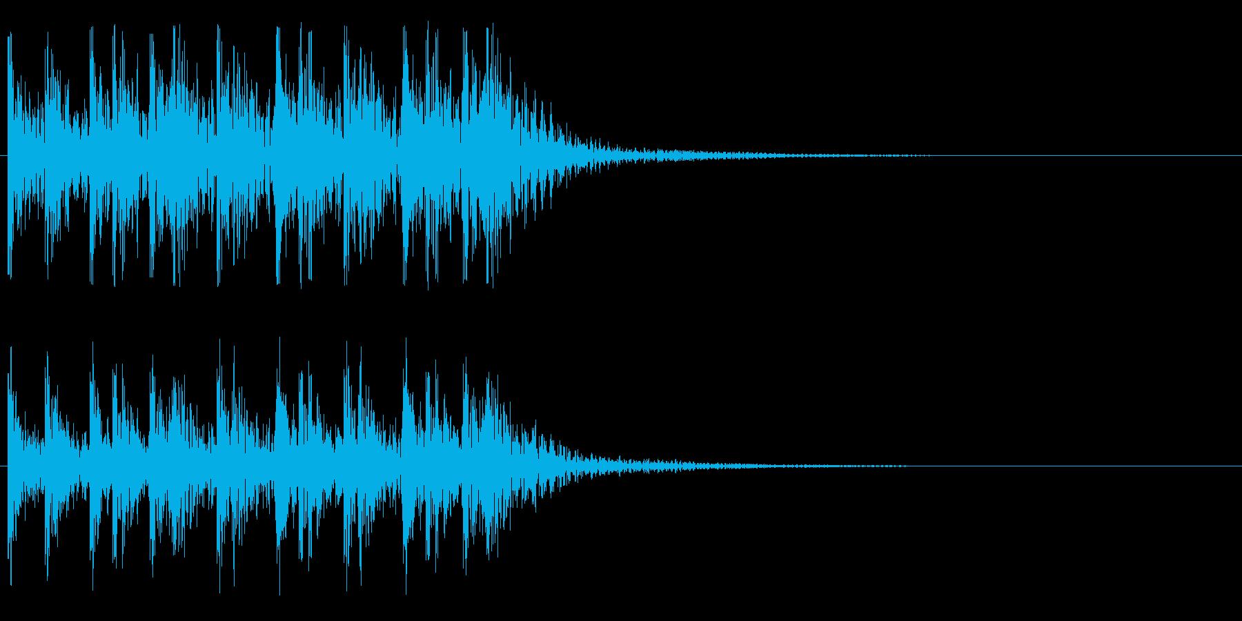 トコトコトコトコ・・・(ティンパニ)の再生済みの波形