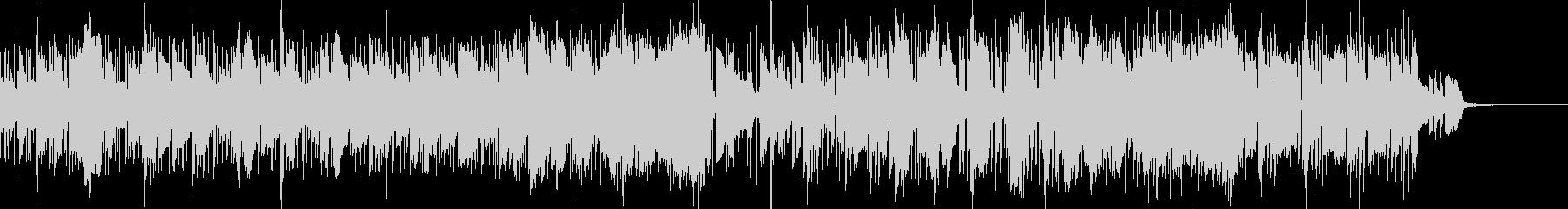 都会的なスムースジャズファンクBGMの未再生の波形