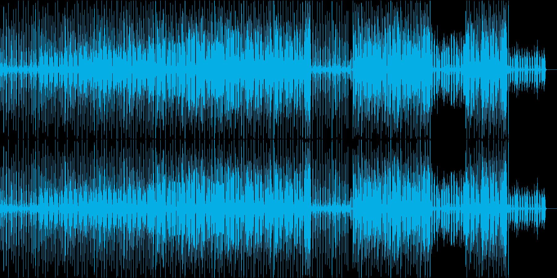 アコギ、口笛、打楽器の楽しい愉快な映像用の再生済みの波形