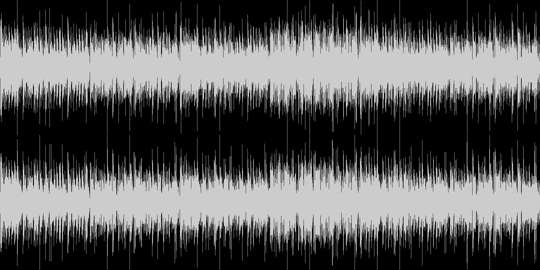 ゲームOP向きエレクトロ系(シンバル無)の未再生の波形