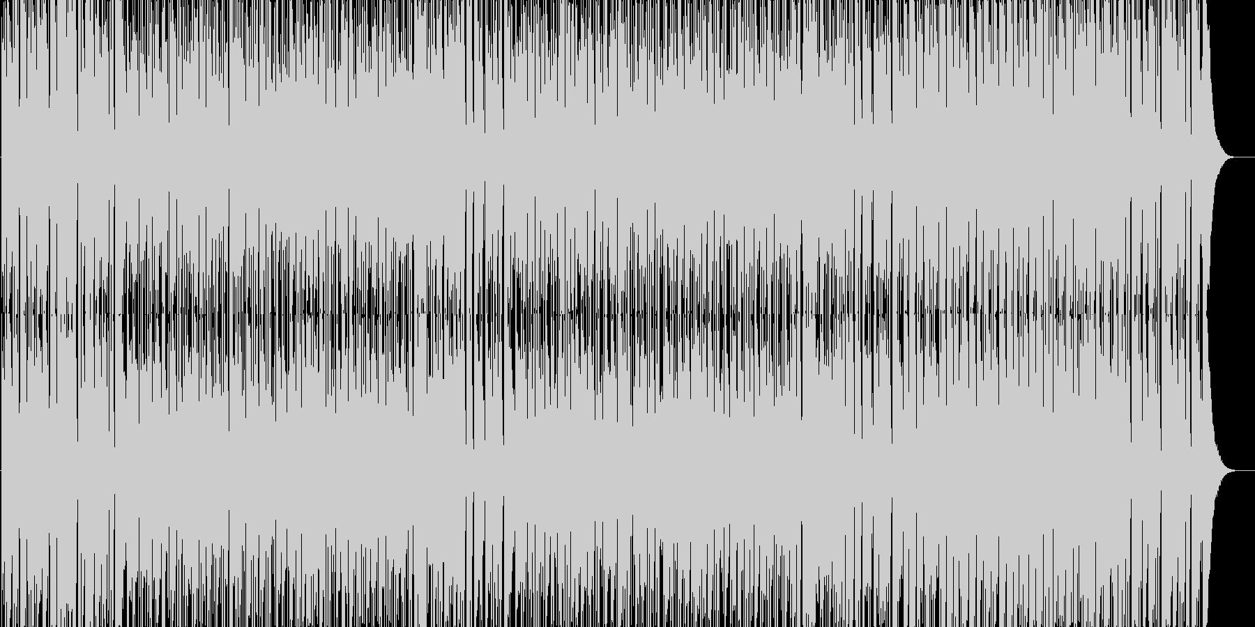 ボサノバ調で、爽やかな感じの曲です。天…の未再生の波形