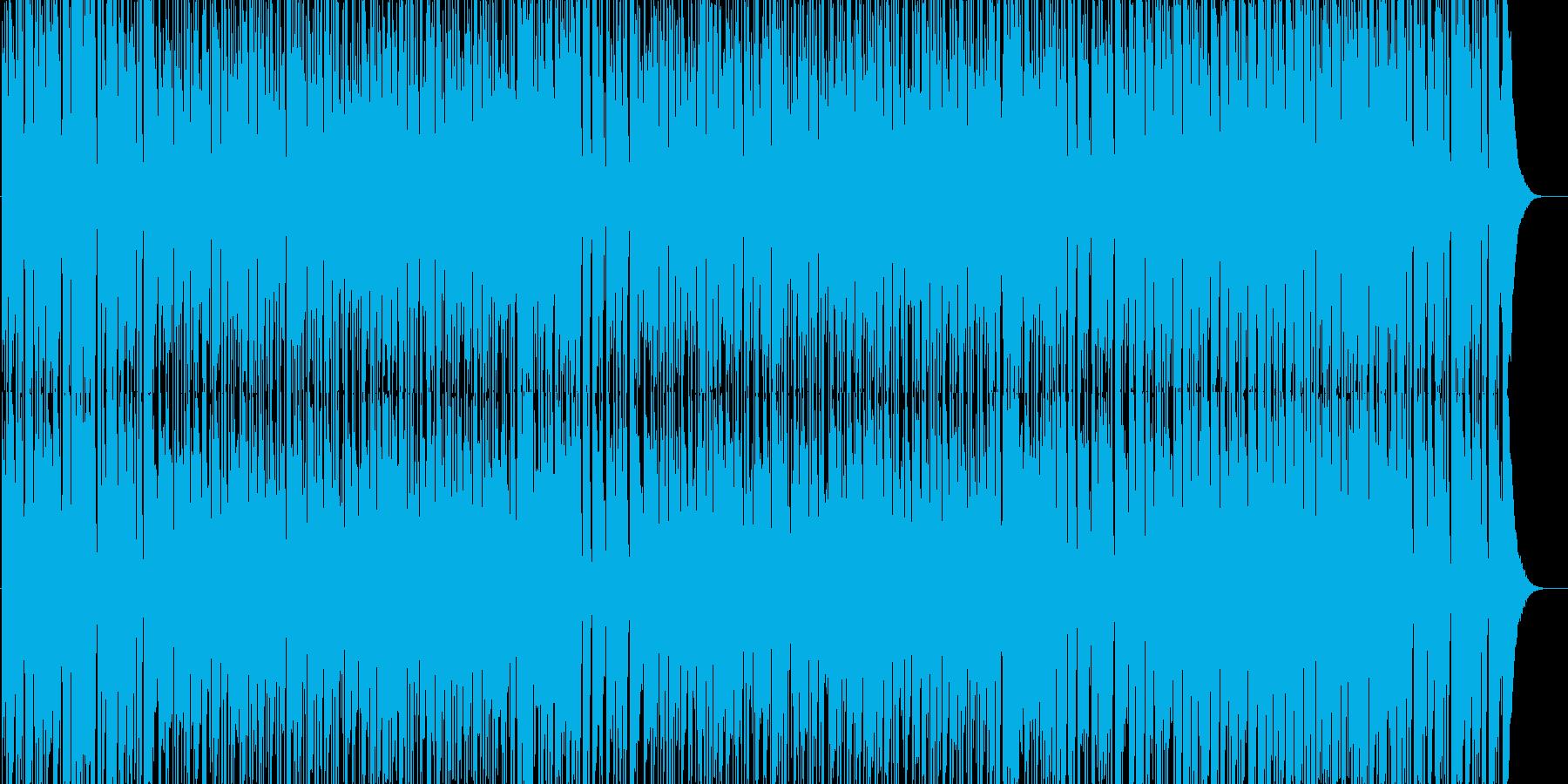 ボサノバ調で、爽やかな感じの曲です。天…の再生済みの波形