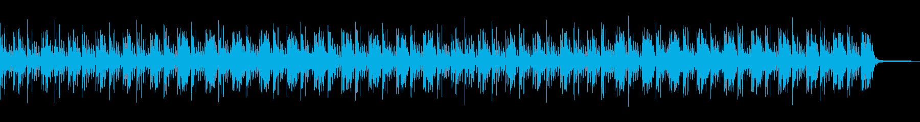 涼しげな雰囲気のアンビエントなBGMですの再生済みの波形