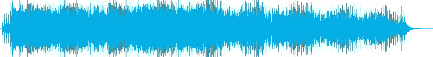 ファンタジーのお祭り曲 ケルト風の再生済みの波形