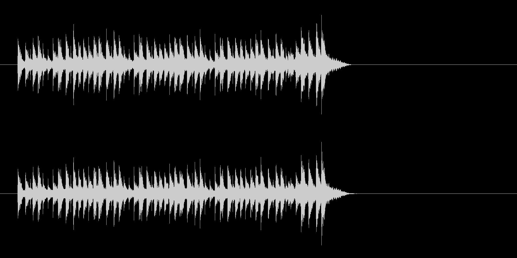 スチールパン 南国 明るい ほのぼのの未再生の波形