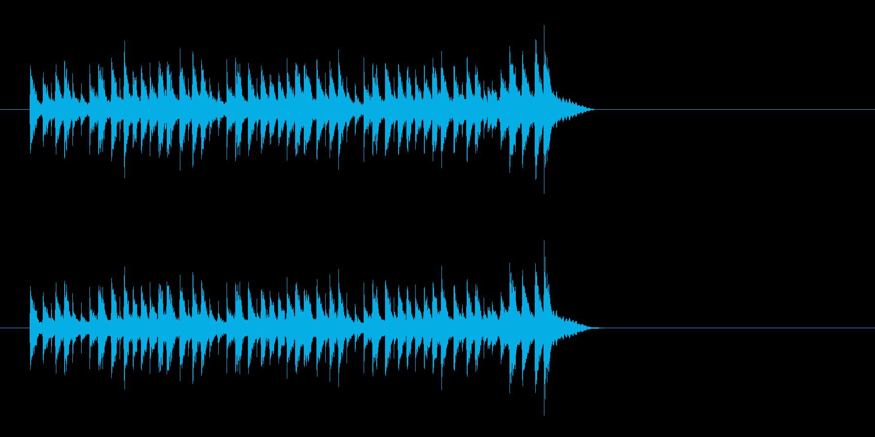 スチールパン 南国 明るい ほのぼのの再生済みの波形