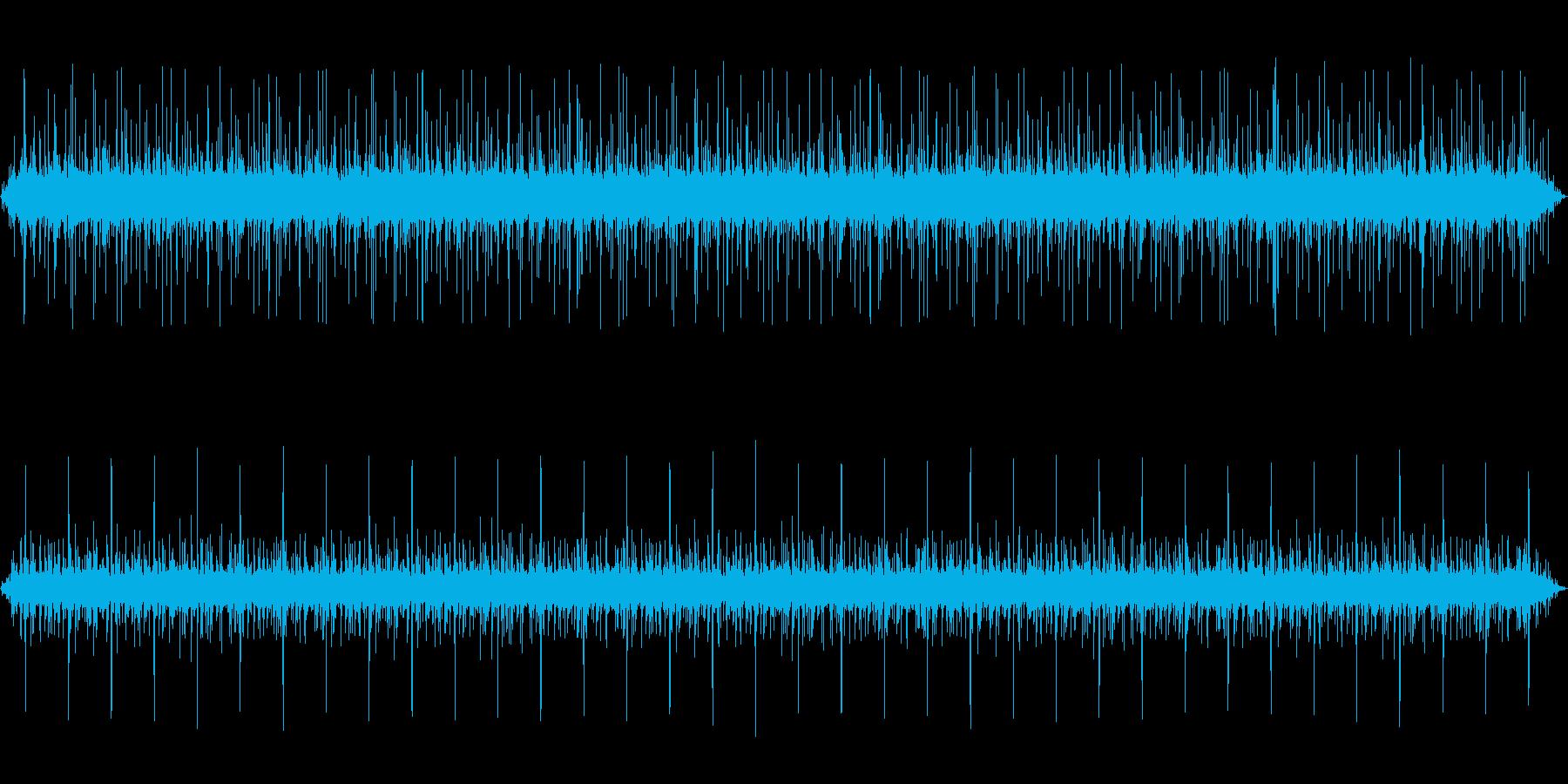 バネを作る機械の動作音03の再生済みの波形