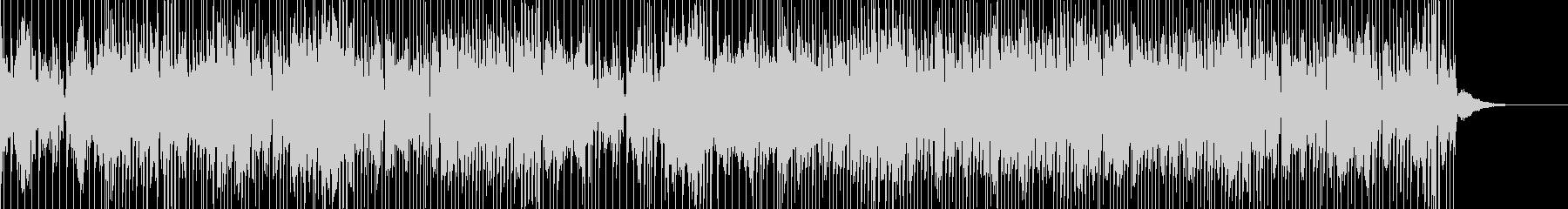 シンセパッドが気持ちいいカッコイイBGMの未再生の波形