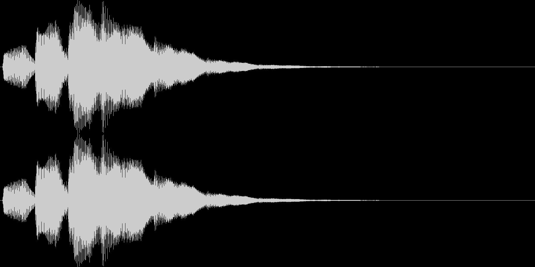 ピロリロリン(スタート、レベルアップ)の未再生の波形