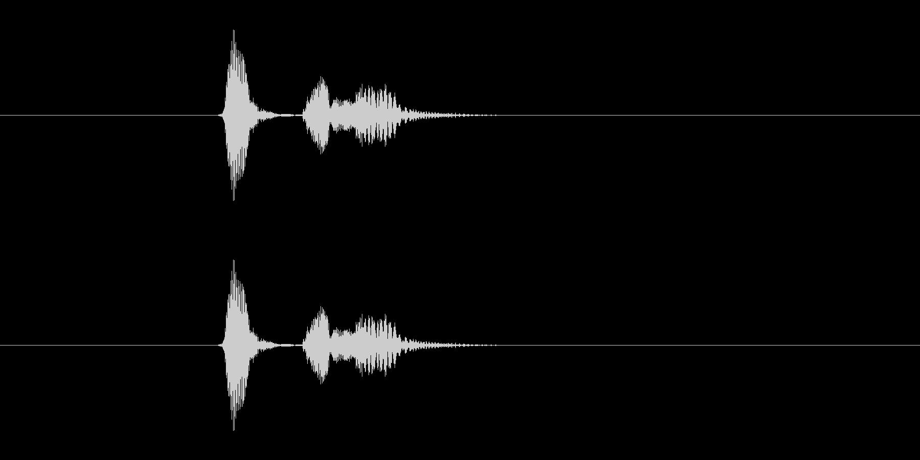 ダッキドゥンの未再生の波形