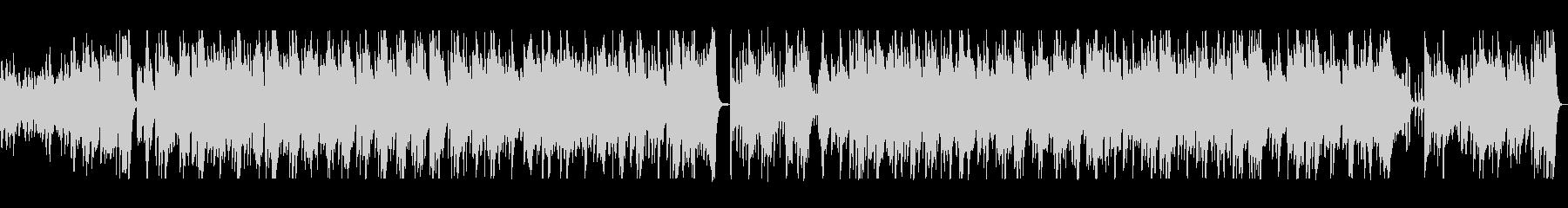 アコースティックギターの陽気なCM曲の未再生の波形
