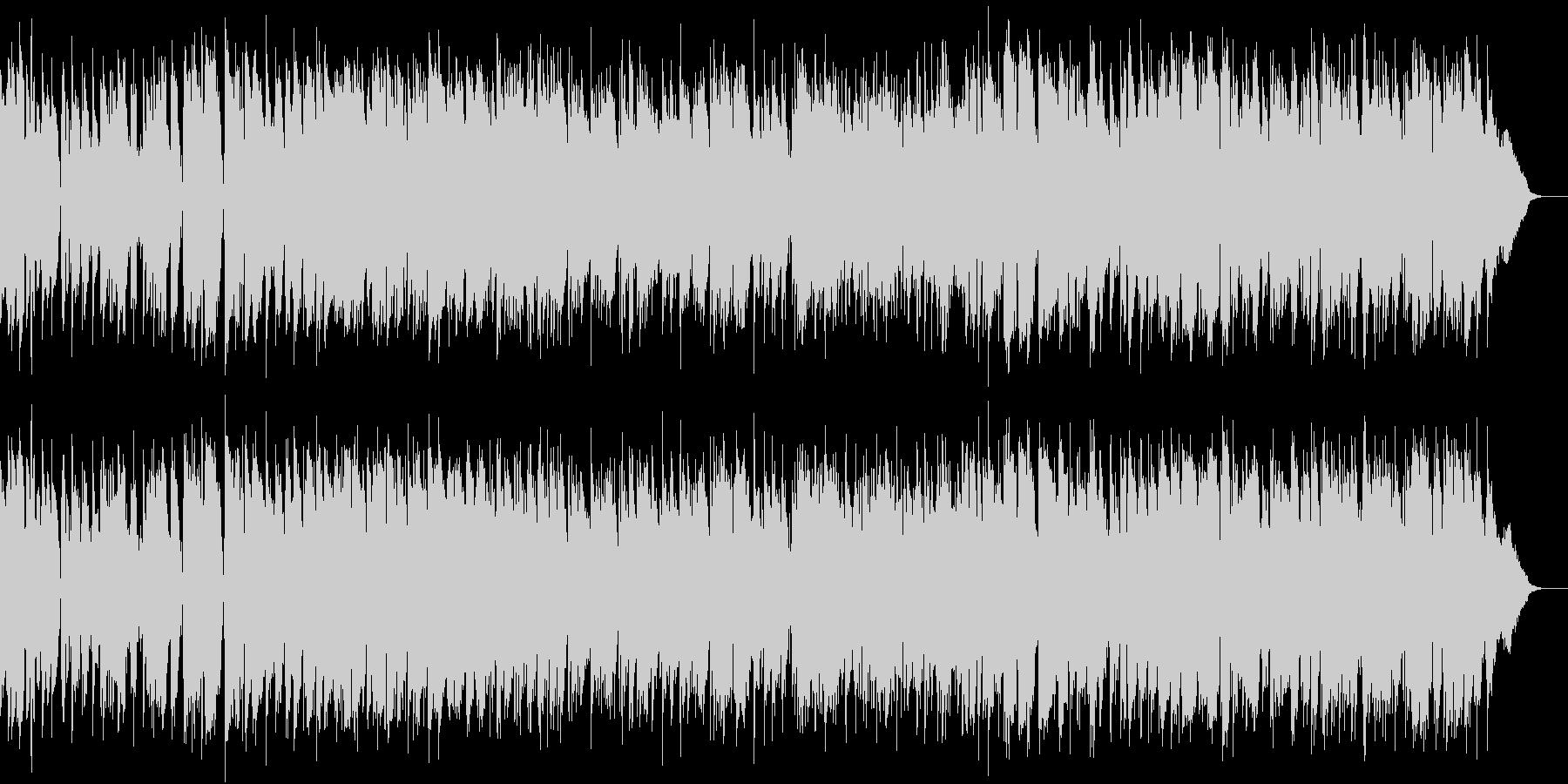 ゆったりしたカフェボサノバの未再生の波形