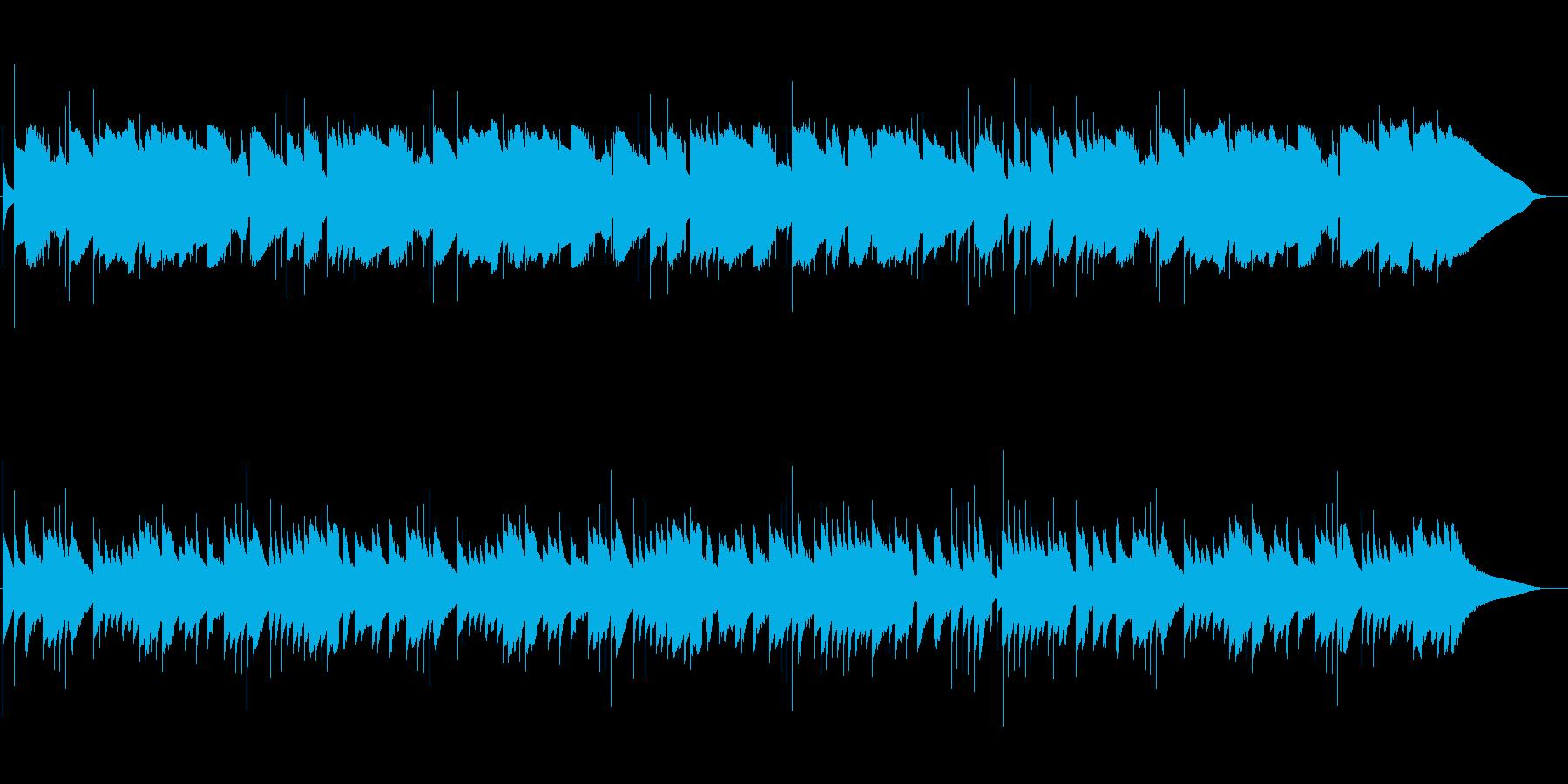 クラシック音楽トロイメライ♪オルゴール風の再生済みの波形