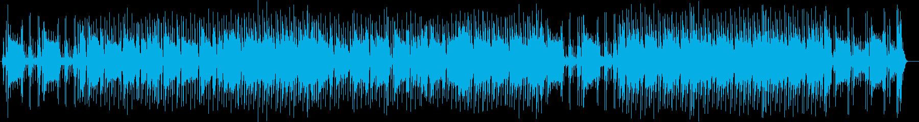 ギターの音色が軽やかに響くポップスの再生済みの波形