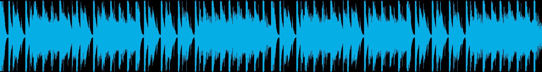 【ループ】レース2位通過のリザルトBGMの再生済みの波形