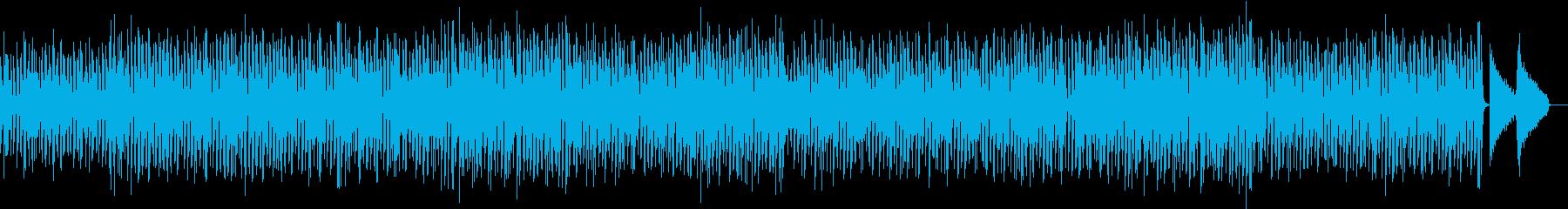 きらきらベルのメロディーが特徴的ポップスの再生済みの波形