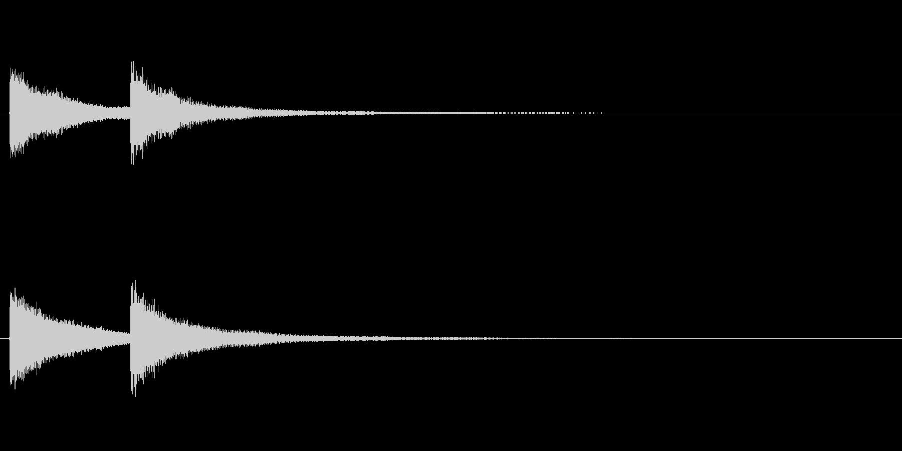 【結果発表02-2】の未再生の波形