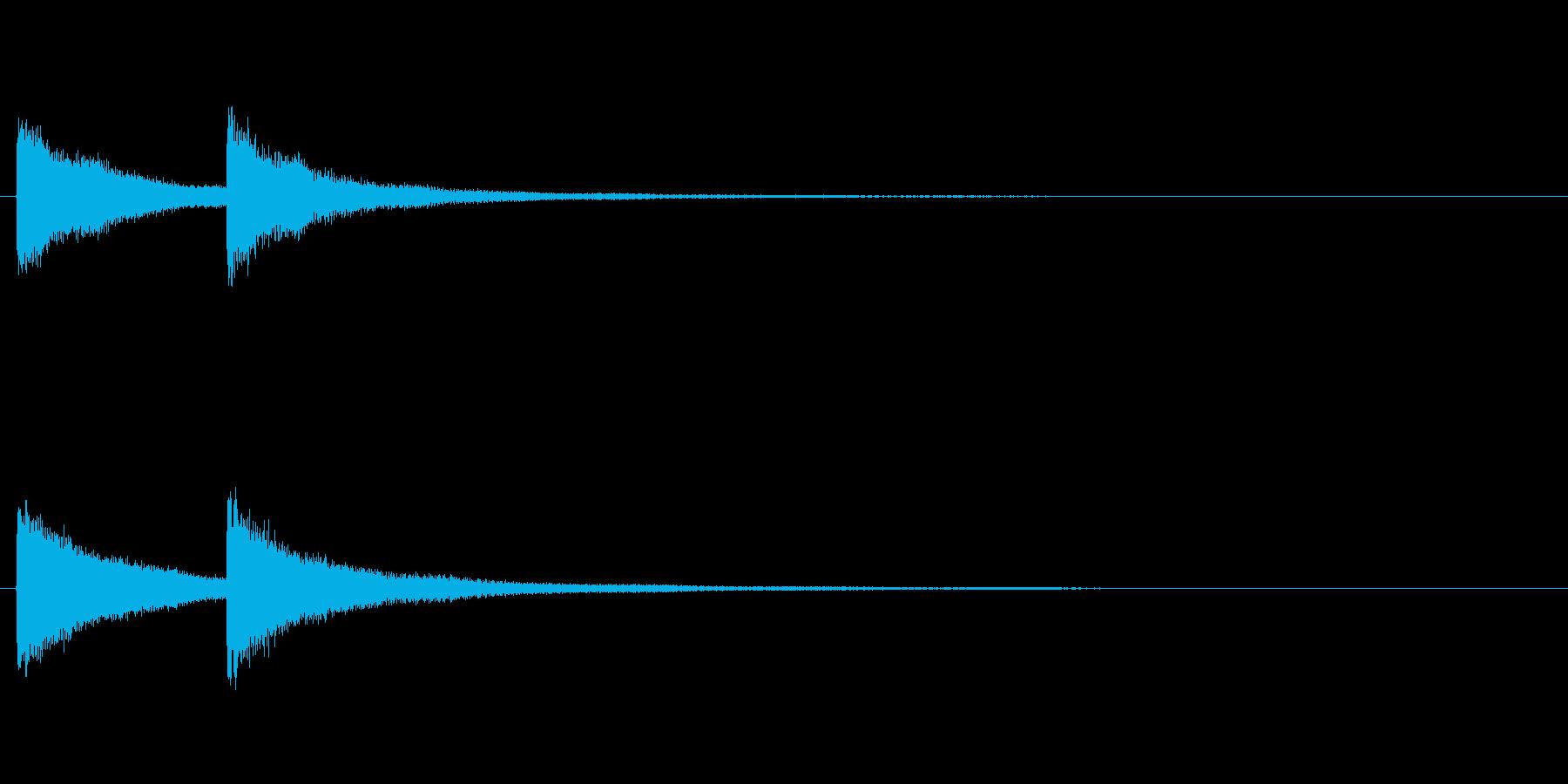 【結果発表02-2】の再生済みの波形