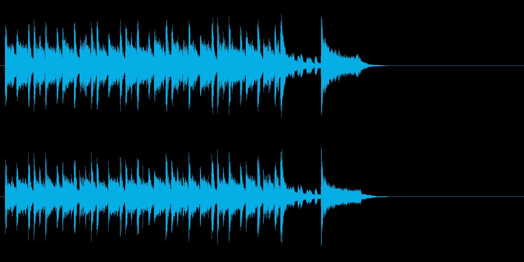 店内向けのポップ ロック(イントロ)の再生済みの波形