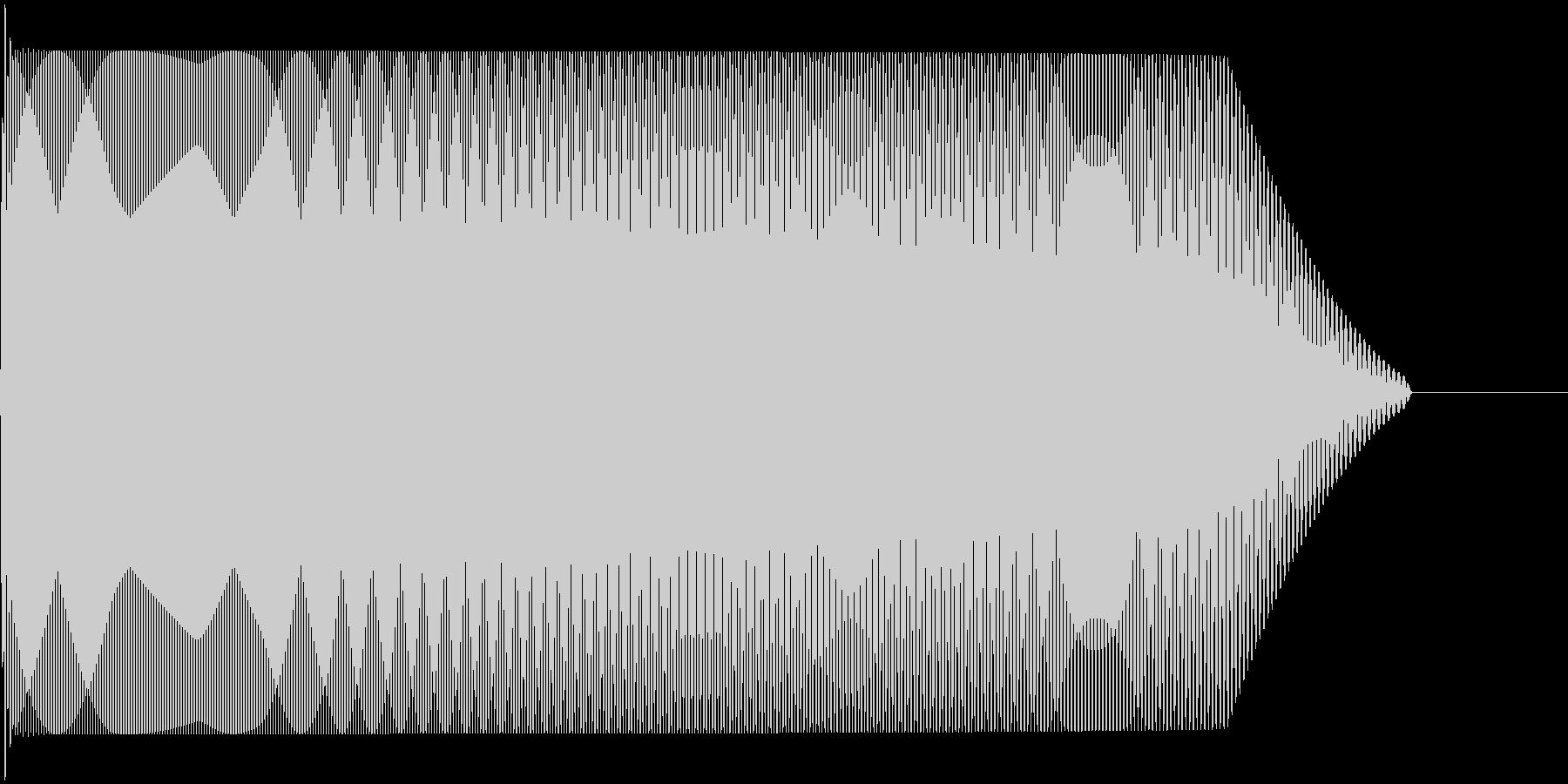 メタルコアベースドロップ B1→B0の未再生の波形