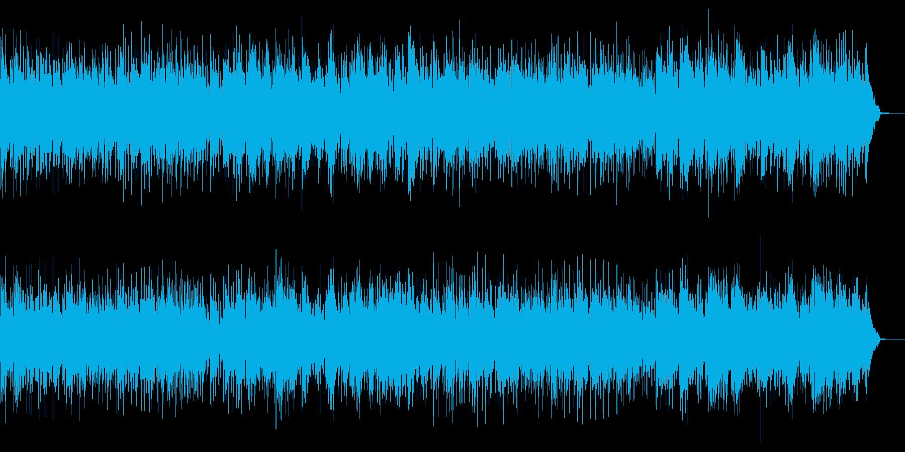 しっとりした雰囲気のポップス2の再生済みの波形