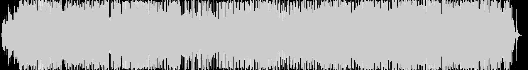 無調性なJAZZ-ROCKの未再生の波形