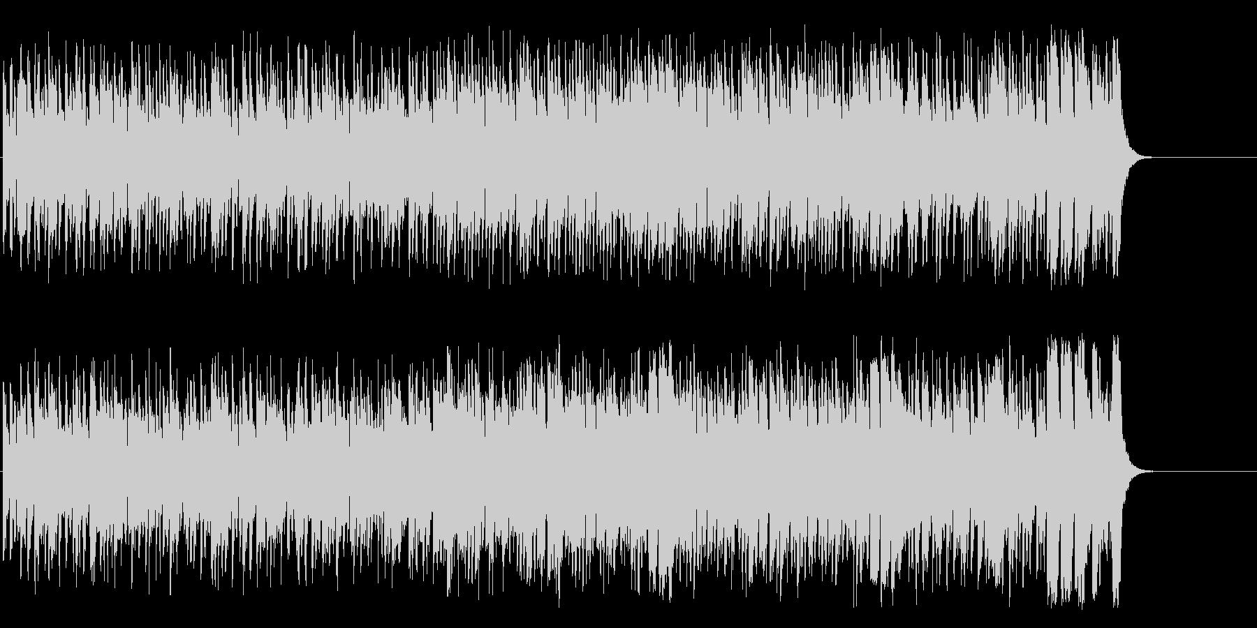 活気あふれるポップ(A~サビ~エンド)の未再生の波形