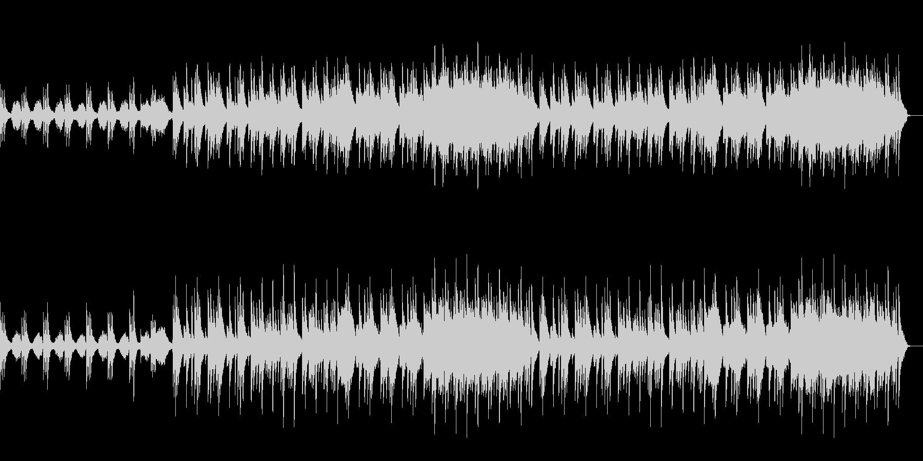 ピアノとストリングスによる切ないBGMの未再生の波形