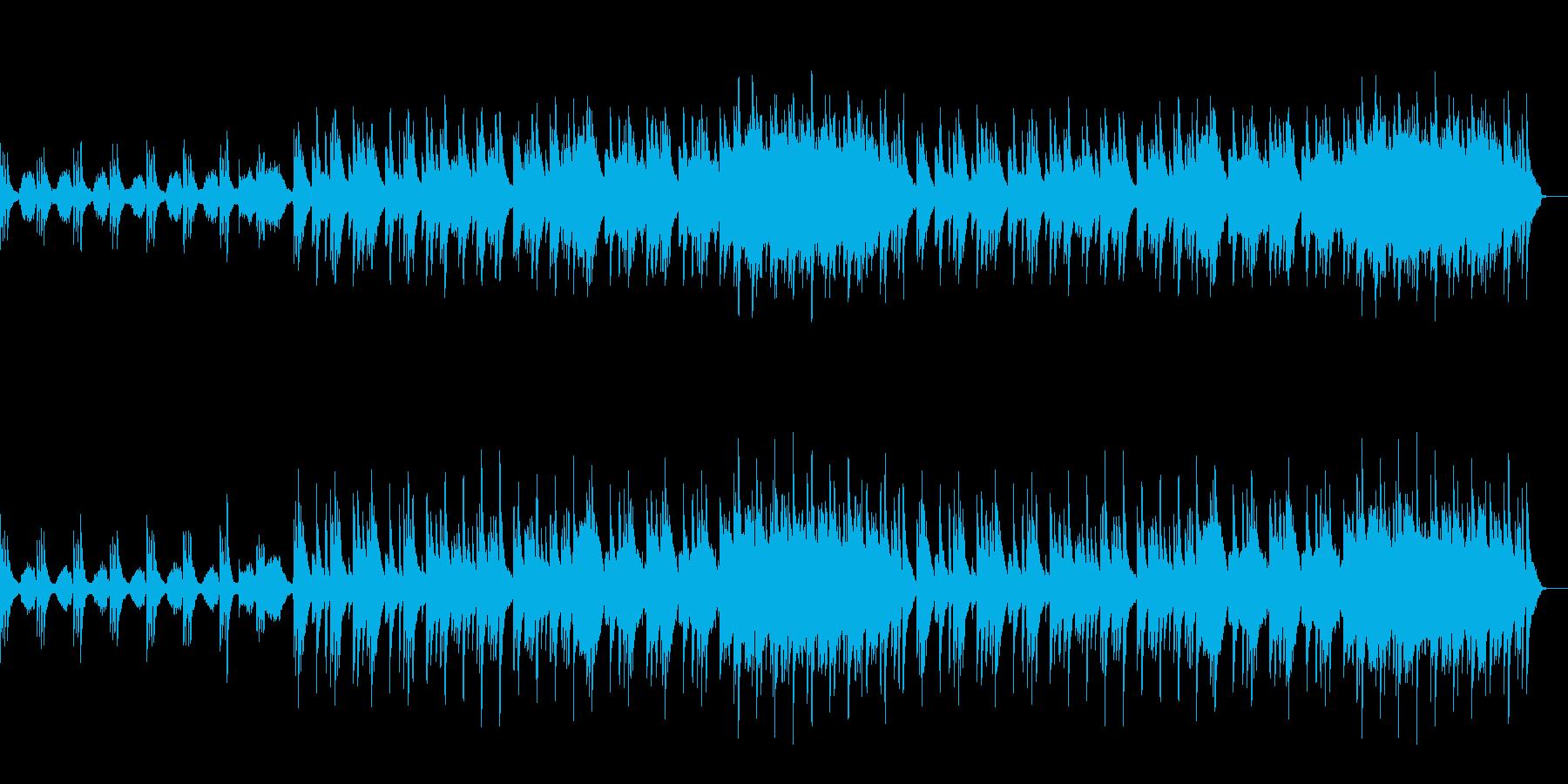ピアノとストリングスによる切ないBGMの再生済みの波形