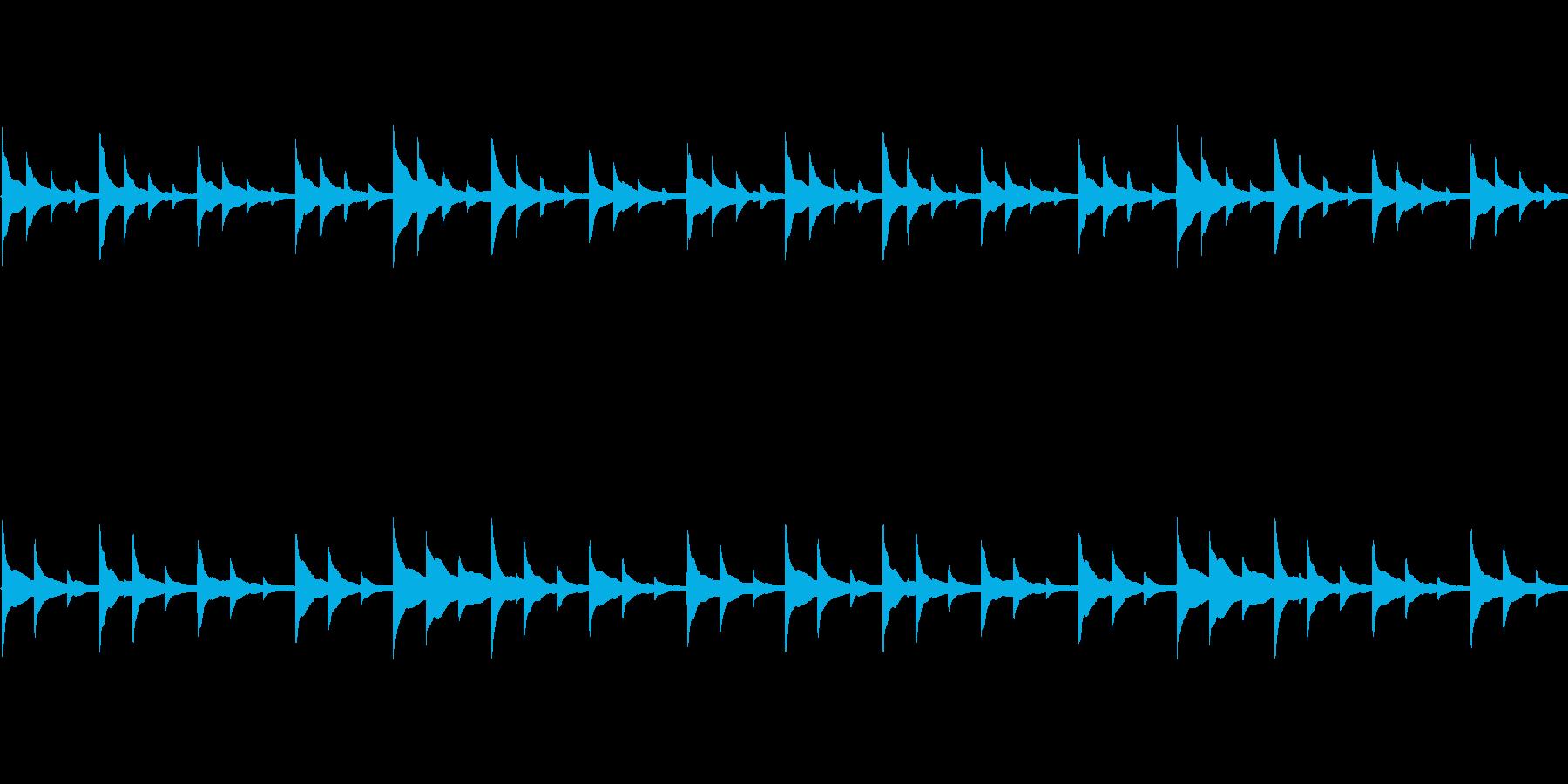 【和風/琴/アンビエント】の再生済みの波形